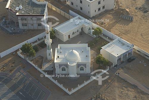 Assunto: Mesquita no deserto virada para Mecca / Local: Cidade de Al Ain - Estado de Abu Dhabi - Emirados Árabes Unidos / Data: Janeiro 2009