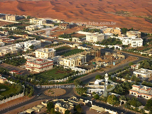 Assunto: Cidade de Al Ain no deserto / Local: Cidade de Al Ain -  Estado de Abu Dhabi - Emirados Árabes Unidos / Data: Janeiro 2009