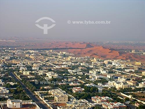 Assunto: Periferia da cidade de Al Ain no deserto / Local: Cidade de Al Ain -  Estado de Abu Dhabi - Emirados Árabes Unidos / Data: Janeiro 2009
