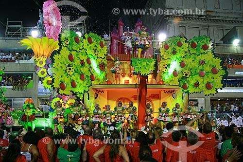 Assunto: Desfile do Grupo Especial das Escolas de Samba do Rio de Janeiro no Carnaval 2010 - Salgueiro  / Local:  Rio de Janeiro - RJ - Brasil  / Data: 14/02/2010