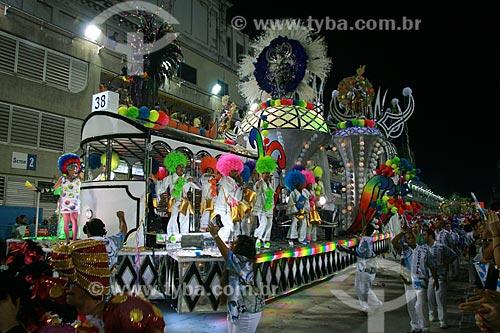 Assunto: Desfile do Grupo Especial das Escolas de Samba do Rio de Janeiro no Carnaval 2010 - Vila Isabel  / Local:  Rio de Janeiro - RJ - Brasil  / Data: 15/02/2010