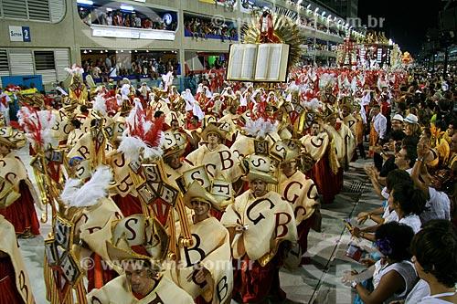 Assunto: Desfile das Campeãs do Rio de Janeiro no Carnaval 2010 - Mangueira  / Local:  Rio de Janeiro - RJ - Brasil  / Data: 20/02/2010