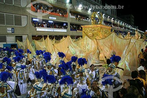 Assunto: Desfile das Campeãs do Rio de Janeiro no Carnaval 2010 - Unidos da Tijuca  / Local:  Rio de Janeiro - RJ - Brasil  / Data: 20/02/2010
