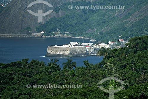 Assunto: Fortaleza de Santa Cruz vista do Pão de Açúcar  / Local:  Niterói - Rio de Janeiro - Brasil  / Data: 12/01/2010