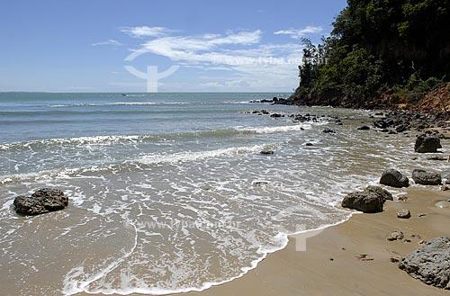 Assunto: Vista da Praia do Madeiro, também conhecida como Praia dos Golfinhos  / Local:  Tibau do Sul - Rio Grande do Norte (RN) - Brasil  / Data: 06/2009