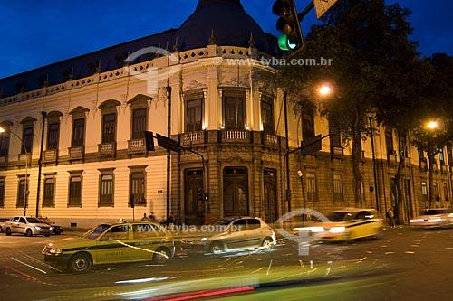 Assunto: Colégio Pedro II  (primeira escola do rio de janeiro) , na avenida Marechal Floriano, antiga rua Larga  / Local:  Rio de Janeiro - RJ - Brasil  / Data: 02/2008