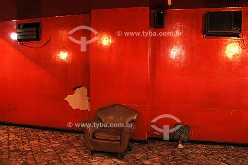 Assunto: Ambiente interno de um hotel na avenida Marechal Floriano, antiga rua Larga  / Local:  Rio de Janeiro - RJ - Brasil  / Data: 03/2008