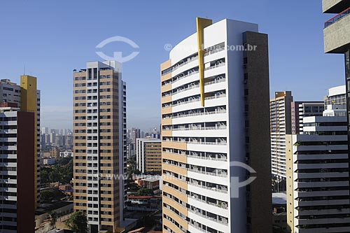 Assunto: Prédios residenciais no bairro Meireles / Local: Fortaleza - Ceará (CE) - Brasil / Data: 05/2009