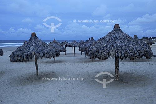 Assunto: Vista noturna da Praia do Futuro / Local: Fortaleza - Ceará (CE) - Brasil / Data: 05/2009