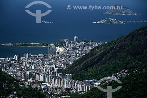 Assunto: Vista aérea do bairro de Copacabana / Local: Rio de Janeiro - RJ - Brasil / Data: 11/2009