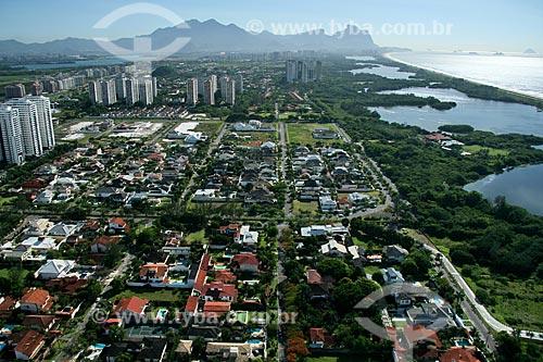 Assunto: Vista aérea do Recreio dos Bandeirantes  / Local:  Rio de Janeiro - RJ - Brasil  / Data: 11/2009
