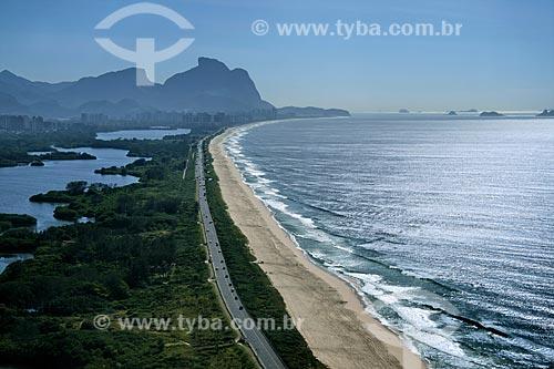 Assunto: Vista aérea da Reserva de Marapendi, no Recreio dos Bandeirantes  / Local:  Rio de Janeiro - RJ - Brasil  / Data: 11/2009
