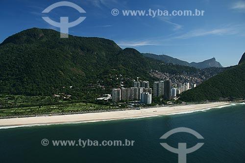 Assunto: Vista aérea de São Conrado  / Local:  Rio de Janeiro - RJ - Brasil  / Data: 11/2009