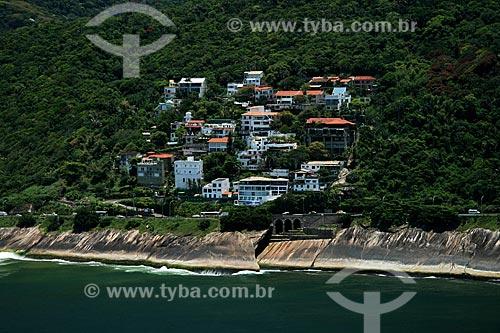 Assunto: Vista aérea do condomínio Ladeira das Yucas  / Local:  Rio de Janeiro - RJ - Brasil  / Data: 11/2009