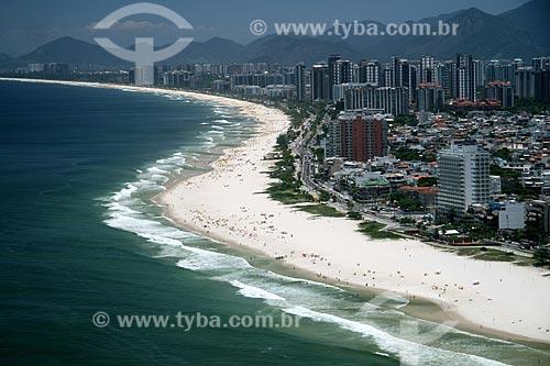 Assunto: Vista aérea da Barra da Tijuca  / Local:  Rio de Janeiro - RJ - Brasil  / Data: 11/2009