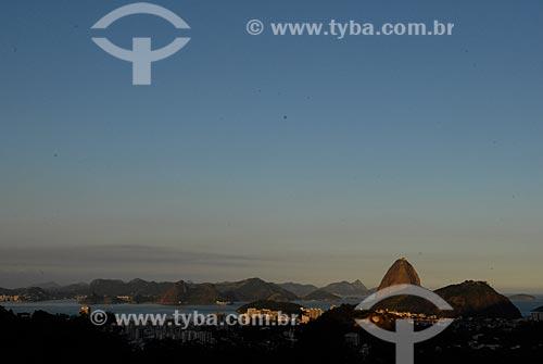 Assunto: Vista do Pão de Açúcar da Casa de Santa Teresa / Local: Rio de Janeiro - RJ - Brasil / Local: Rio de Janeiro - RJ - Brasil  / Data: 04/2009