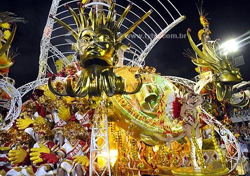 Assunto: Desfile da Escola de Samba Acadêmicos do Grande Rio  / Local:  Rio de Janeiro - RJ - Brasil  / Data: 02/2010
