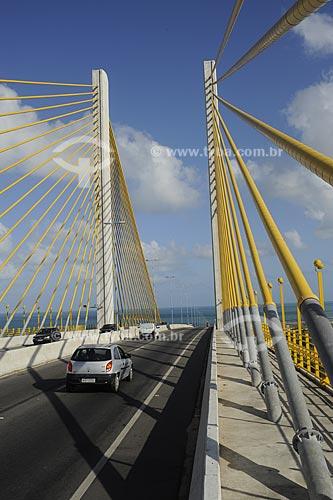Assunto: Ponte Newton Navarro, também conhecida como Ponte de Todos, sobre o rio Potenji / Local: Natal - Rio Grande do Norte (RN) - Brasil / Data: 10/2009