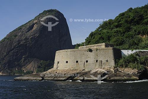 Assunto: Pão de Açucar e a Fortaleza de São João / Local: Rio de Janeiro - RJ - Brasil  / Data: 01/2010