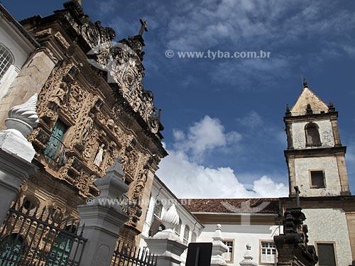 Assunto: Fachada da Igreja da Ordem Terceira de São Francisco  / Local:  Salvador - Bahia (BA) - Brasil  / Data: 07/2009