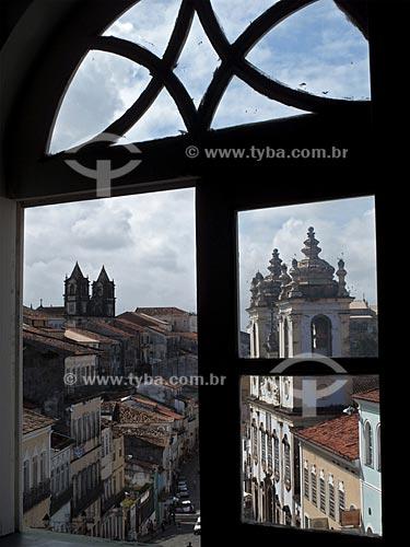 Assunto: Fachada da Igreja de Nossa Senhora do Rosário dos Pretos  / Local:  Salvador - Bahia (BA) - Brasil  / Data: 07/2009