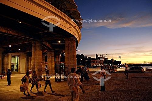 Assunto: Mercado Modelo ao anoitecer / Local: Salvador - Bahia (BA) - Brasil  / Data: 25/01/2010