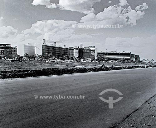 Assunto: Construção de Brasília  / Local:  Brasília - Distrito Federal - Brasil  / Data: 1959