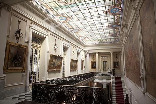 Assunto: Interior do Palácio Pedro Ernesto ( O prédio abriga a Câmara Municipal dos vereadores do Rio de Janeiro desde março de 1977)  / Local:  Cinelândia - Centro - Rio de Janeiro  / Data: 02/2010