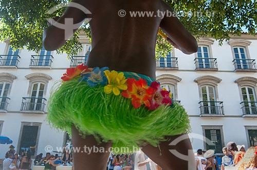 Assunto: Bloco de carnaval de rua Cordão do Boitatá  / Local:  Centro do Rio de Janeiro - RJ - Brasil  / Data: 14/ 02/2010