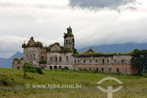 Assunto: Ruínas do Convento de São Boaventura de Macacu (1670)  / Local: Porto das Caixas -  Rio de Janeiro (RJ) - Brasil  / Data: 01/2007