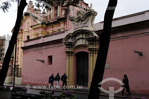 Assunto: Fachada do Museu de Arte Religiosa Juan de Tejeda  / Local:  Córdoba - Província de Córdoba - Argentina  / Data: 08/2008