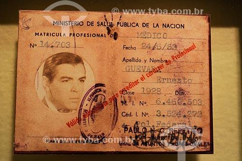 Assunto: Museu Casa Ernesto Che Guevara - Licensa Profissional de Medicina de Ernesto Guevara  / Local:  Alta Grácia - Província de Córdoba - Argentina  / Data: 08/2008