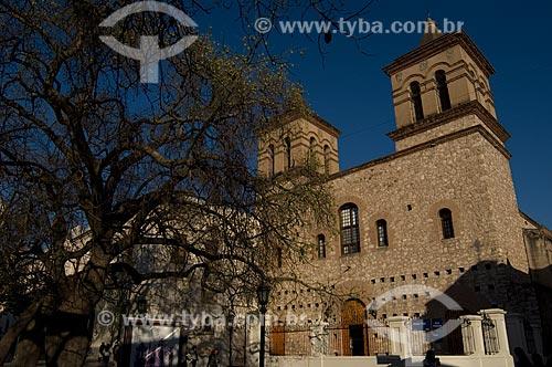 Fachada da Iglesia de la Compañía de Jesús (Igreja da Companhía de Jesus) no Bairro Jesuíta de Córdoba, atualmente declarado um Patrimônio da Humanidade pela Unesco   - Argentina