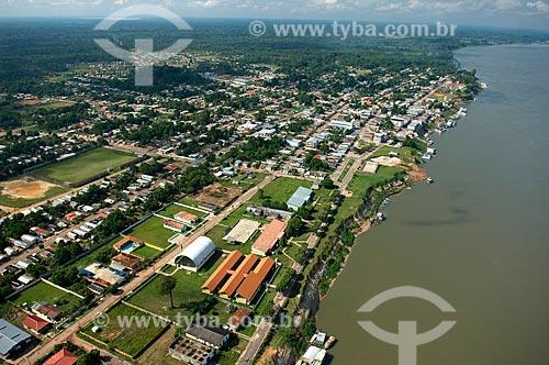 Assunto: Cidade de Nova Olinda do Norte, à margem do rio Madeira  / Local:  Amazonas (AM) - Brasil  / Data: 11/2007