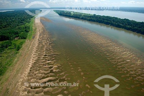 Assunto: Várzea do rio Madeira, em frente à Nova Olinda do Norte  / Local:  Amazonas (AM) - Brasil  / Data: 11/2007