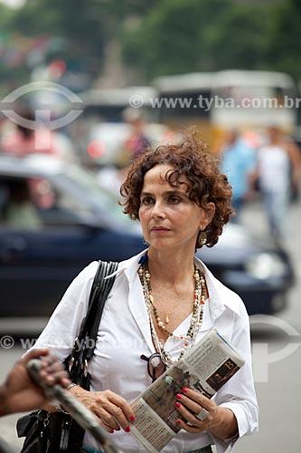 Assunto: Mulher no centro comercial e empresarial da cidade  / Local:  Rio de Janeiro - RJ - Brasil  / Data: 19/02/2010