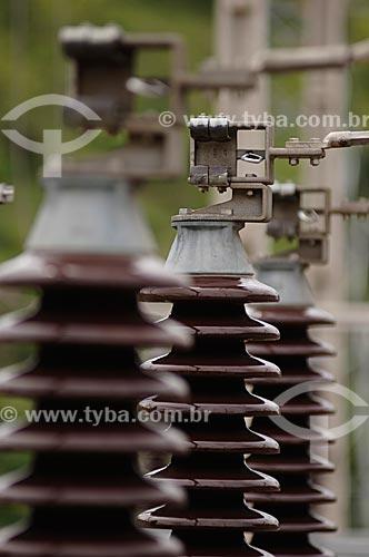 Assunto: Detalhe de Usina Termelétrica  / Local: Juiz de Fora - MG - Brasil  / Data: 15/01/2008
