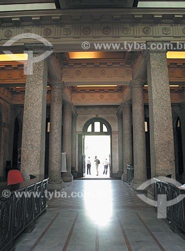 Assunto: Interior do Arquivo Nacional na Praça da República - prédio anteriormente utilizado pela Casa da Moeda  / Local:  Rio de Janeiro - RJ - Brasil  / Data: Dezembro de 2009