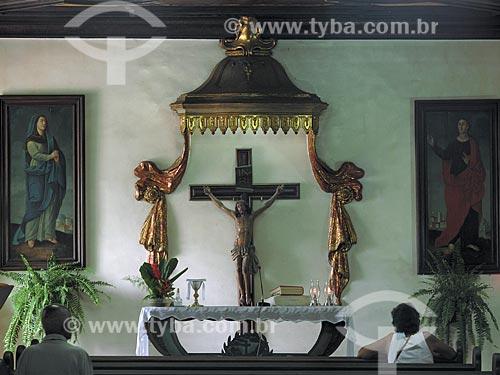 Assunto: Interior do Convento de Santo Antônio no Largo da Carioca  / Local:  Rio de Janeiro - RJ  / Data: Novembro de 2009