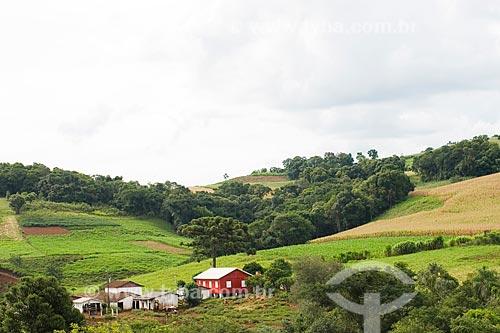 Assunto: Paisagem rural / Local: Guaraciaba - Santa Catarina - Brasil / Data: 02/2010