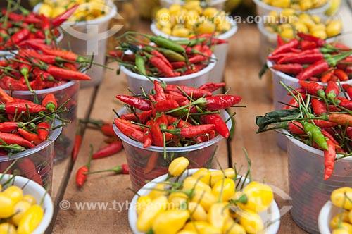 Assunto: Pimenta à venda no Mercado Ver-o-Peso / Local: Belém - Pará (PA) - Brasil / Data: 01/11/2009