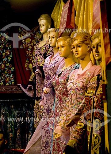 Assunto: Feira internacional em Dubai denominada Global Village. Detalhe dos manequins de loja de roupa feminina  / Local:  Dubai - Emirados Árabes  / Data: Janeiro 2009
