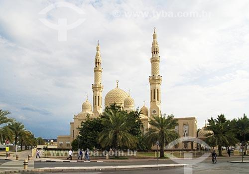 Assunto: Fachada da Mesquita de Jumeirah  / Local:  Dubai - Emirados Árabes  / Data: Janeiro 2009