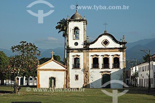 Assunto: Igreja de Santa Rita de Cássia, no Centro Histórico de Paraty - Patrimônio tombado pelo IPHAN / Local:  Paraty - Rio de Janeiro - RJ - Brasil  / Data: 06/2007