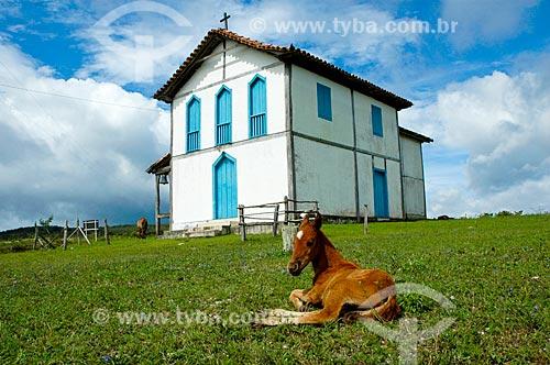 Assunto: Igreja de São Geraldo de Capivari  / Local:  Capivari - Minas Gerais - MG - Brasil  / Data: 01/2009