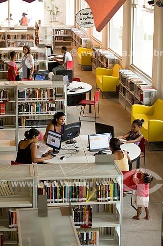 Assunto: Biblioteca Parque Manguinhos - Programa de Aceleração do Crescimento - PAC Manguinhos  / Local:  Rio de Janeiro - RJ - Brasil  / Data: 19/05/2010