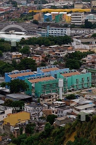 Assunto: Conjunto Habitacional Condomínio Itaóca 1174 do Programa de Aceleração do Crescimento - PAC - Complexo do Alemão  / Local:  Rio de Janeiro - RJ - Brasil  / Data: 20/05/2010