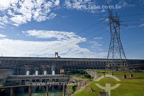 Assunto: Turbinas da Usina Hidrelétrica de Itaipu (Itaipu Binacional)  / Local:  Foz do Iguaçu - PR - Brasil  / Data: 08/06/2009