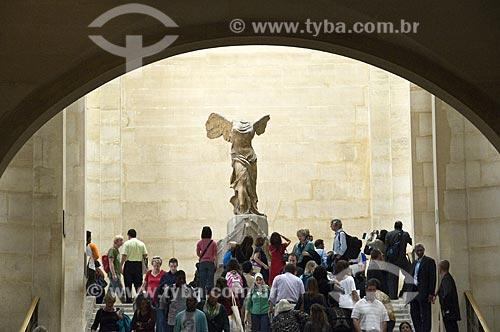 Assunto: Vitória de Samotrácia  (Niké de Samotrácia) no Museu do Louvre / Local: Paris -  França / Data: 14/09/2009