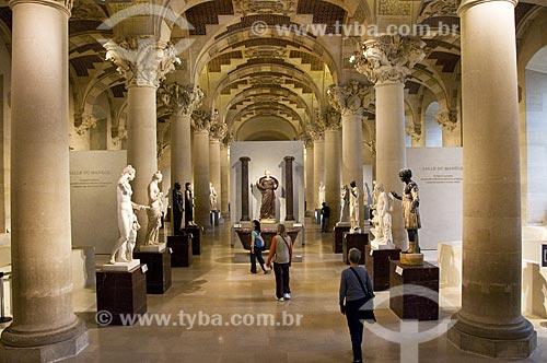 Assunto: Galeria Manège no interior do Museu do Louvre / Local: Paris -  França / Data: 14/09/2009